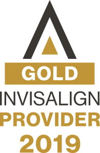 gold invisalign logo